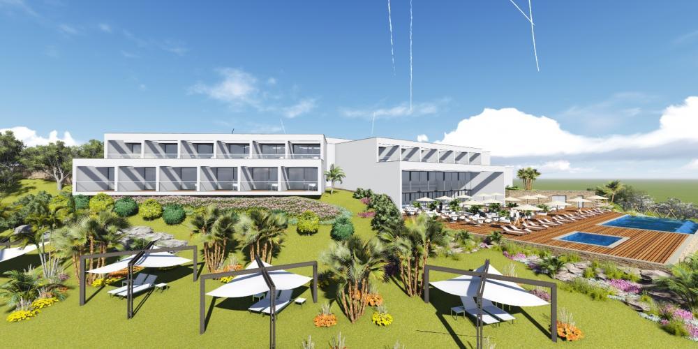 酒店費拉古拉戈阿阿爾加維項目3D架構