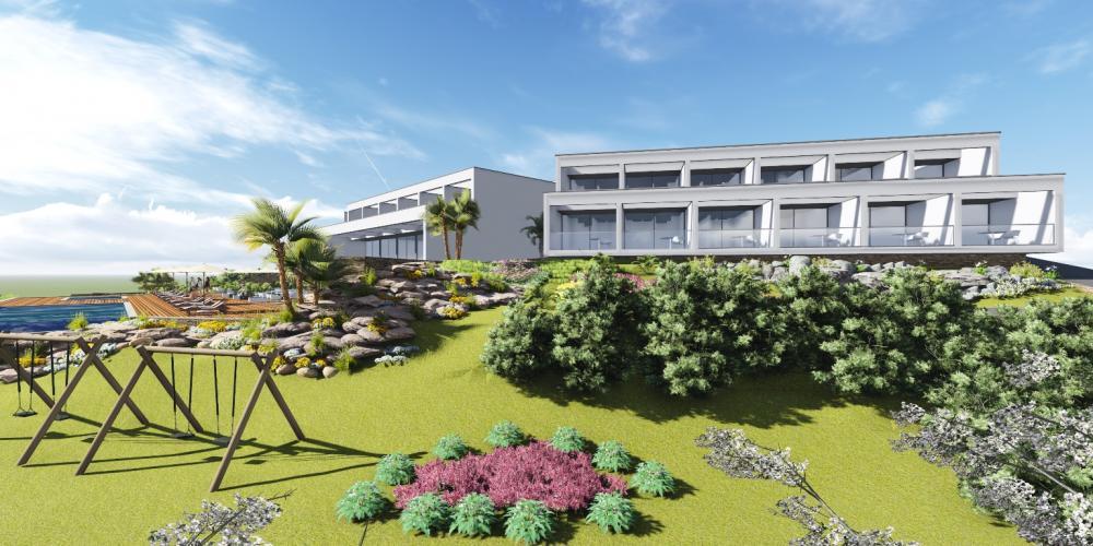 Hotel פראגודו Lagoa אלגרבה פרויקט אדריכלות 3D