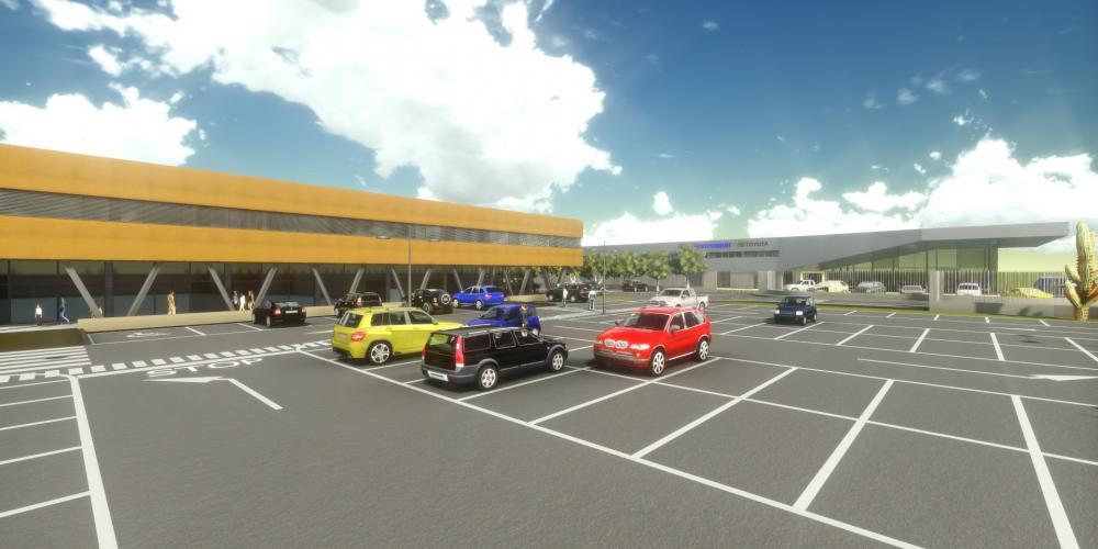 centro negócios Luanda protejo arquitectura construção obra 3D áfrica