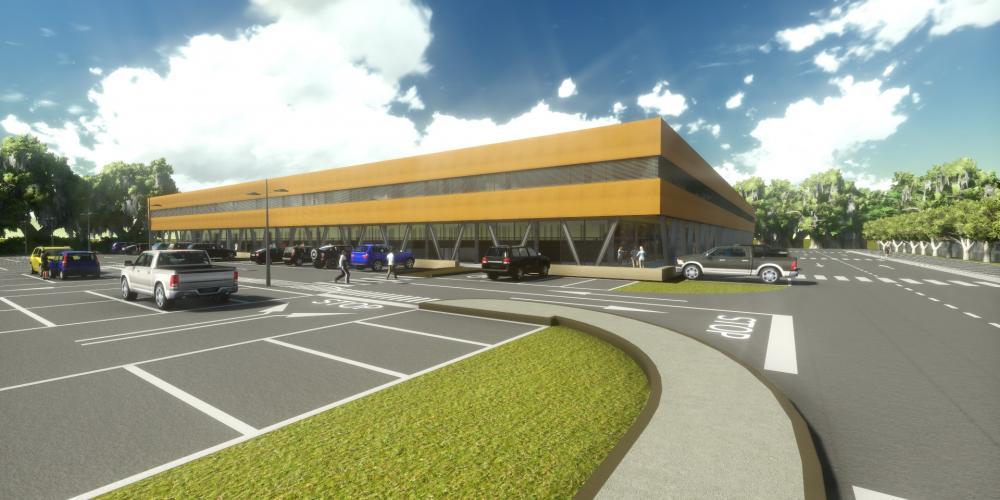 negocios del centro de Luanda proteger a los trabajos de construcción arquitectónica en 3D áfrica