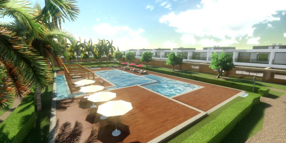 Tourist Resort Portimão Algarve Architecture Project 3D