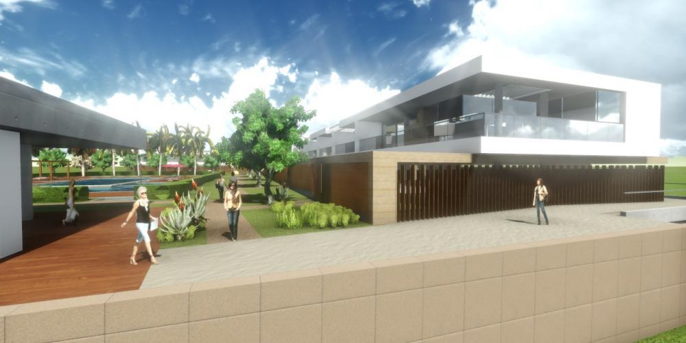 Aldeamento Turístico Portimão Algarve Projecto Arquitectura 3D