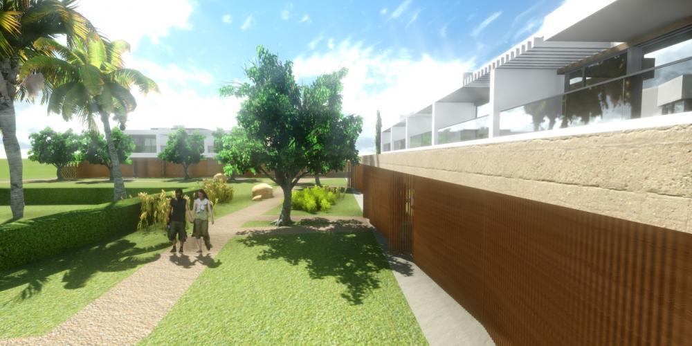 Туристична село Портімао Алгарве Проект 3D Архітектура