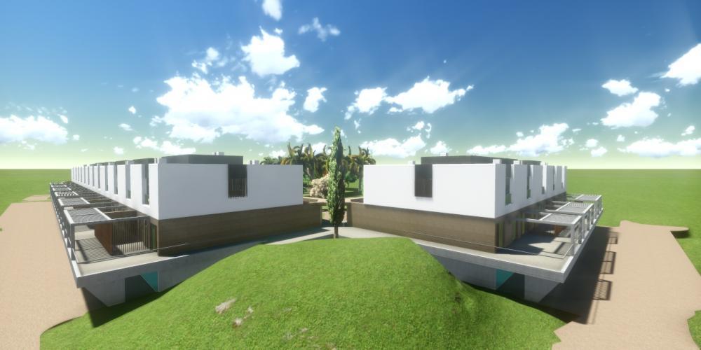 旅遊波爾蒂芒阿爾加維村項目3D架構