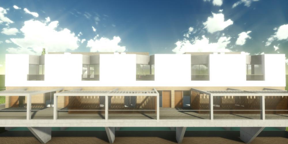 旅游波尔蒂芒阿尔加维村项目3D架构