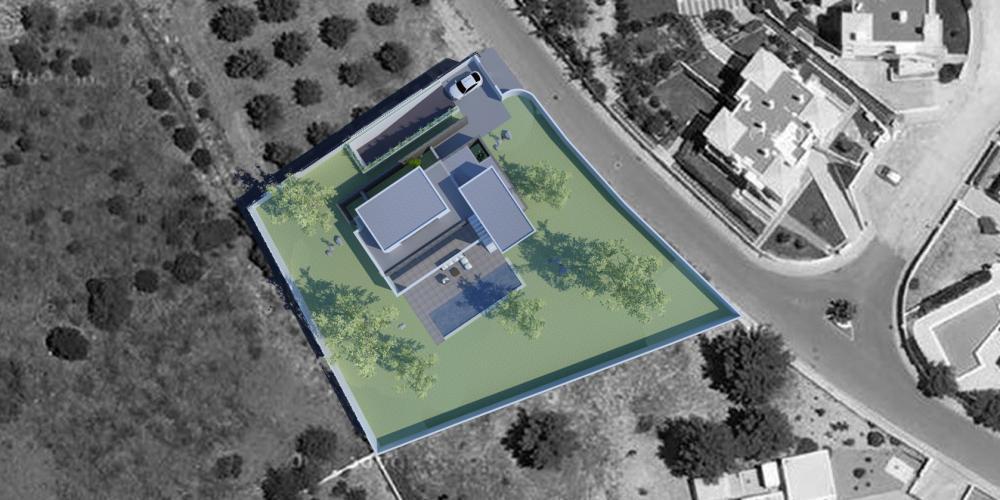 Einfamilien- freistehende Villa carvoeiro Algarve Lagune Design Architektur Architektur Bauarbeiten