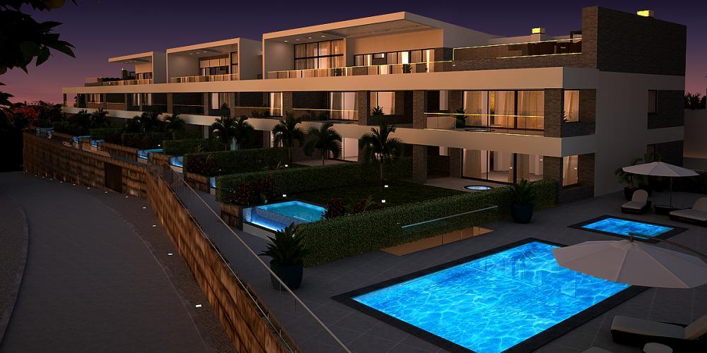 بناء الشقق finisterra البوفيرا العمارة الغارف هندسة تصميم أعمال البناء