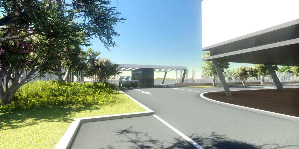 motel Luanda projecto arquitectura 3D obra construção alojamento turístico
